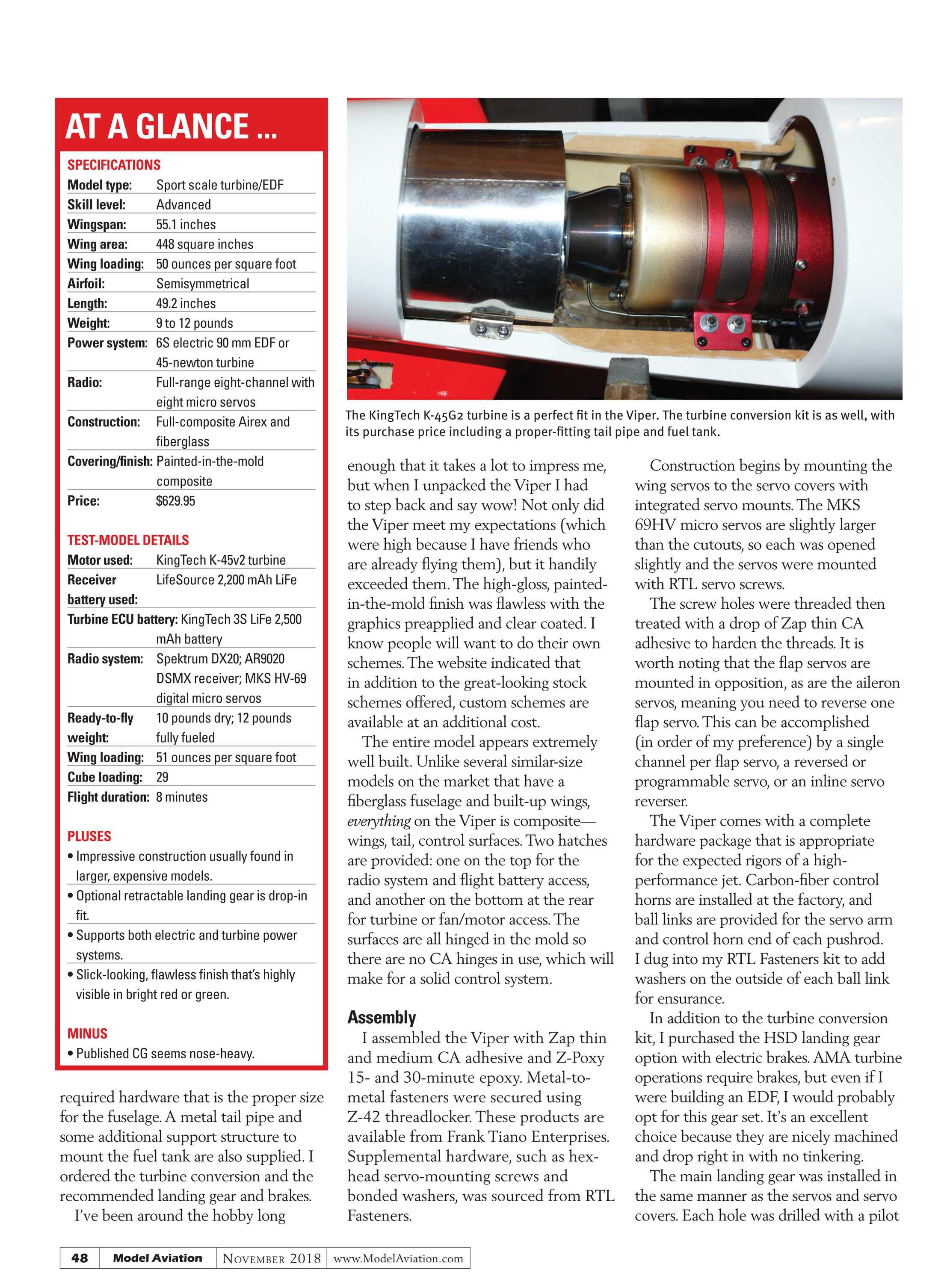 Model Aviation - November 2018 - page 47