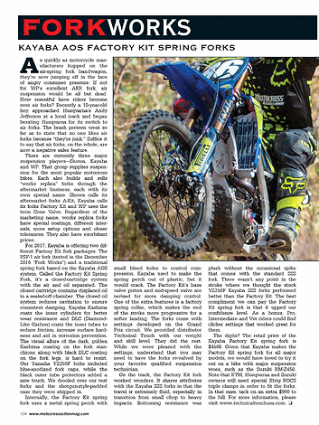 Motocross Action Magazine - April 2017 - Page 104-105