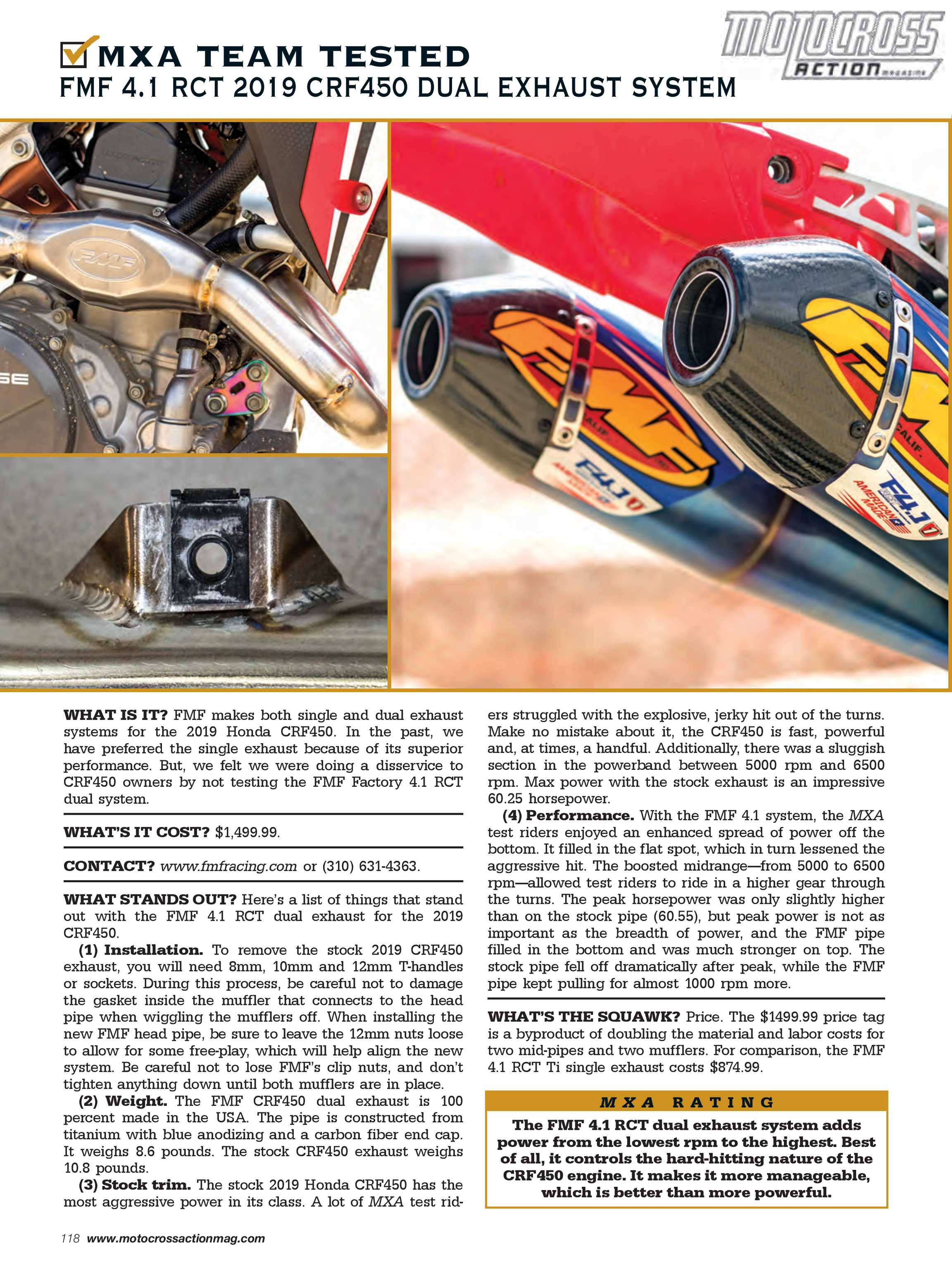 Last Sunday In August Felt More Like >> Motocross Action Magazine August 2019 Page 118