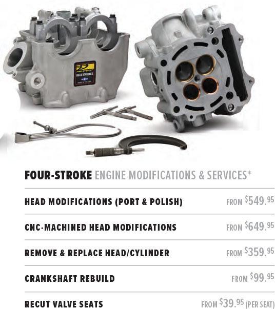 Motocross Action Magazine - February 2019 - Engine Services