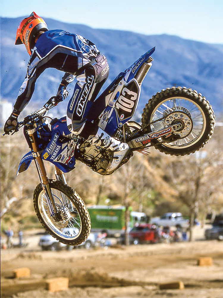 Motocross Action Magazine - February 2019 - We Ride Chad Reed's 2002