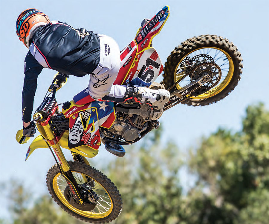 Motocross Action Magazine - January 2019 - Swords Of The