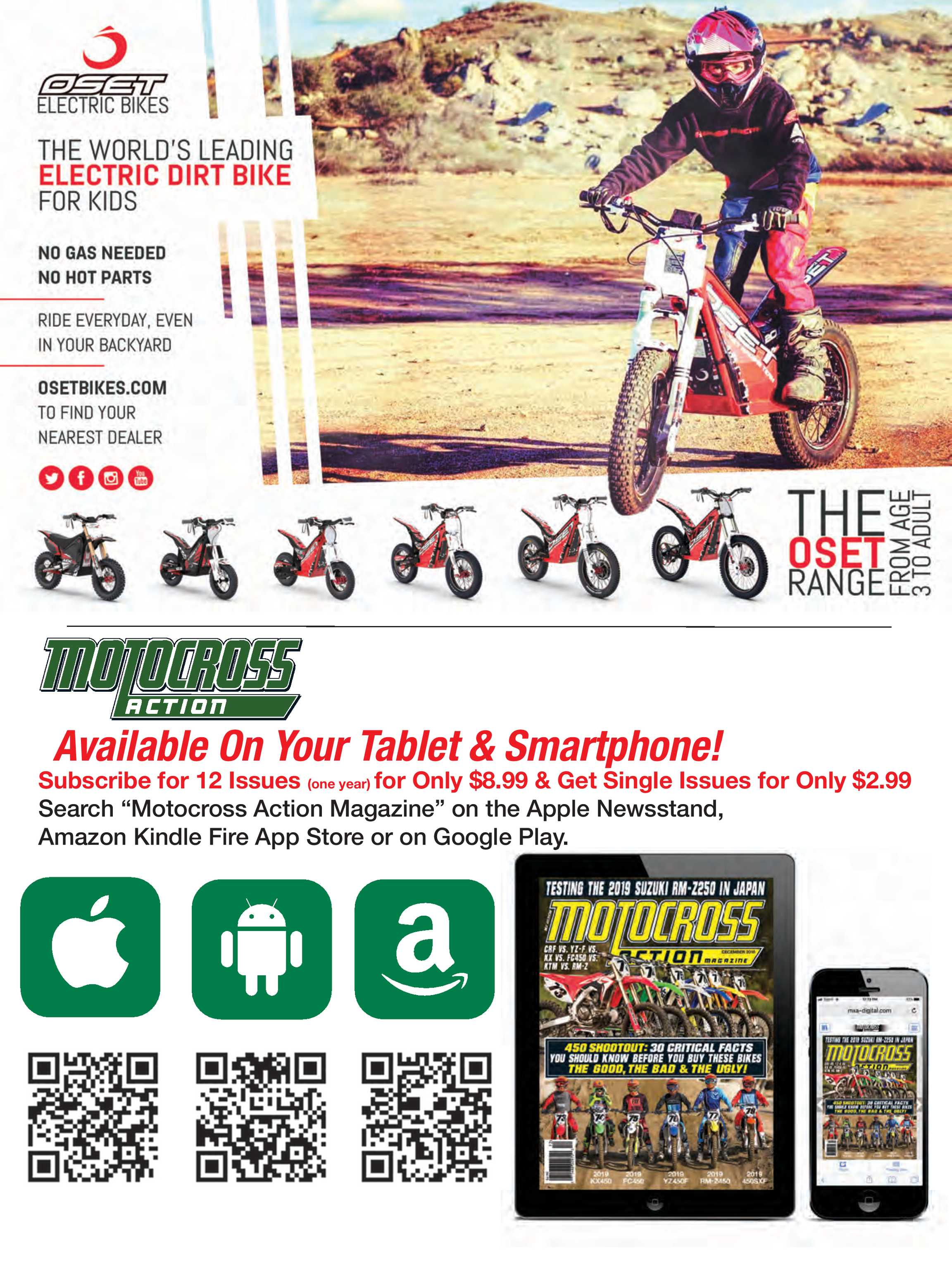 Motocross Action Magazine - July 2019 - page 110