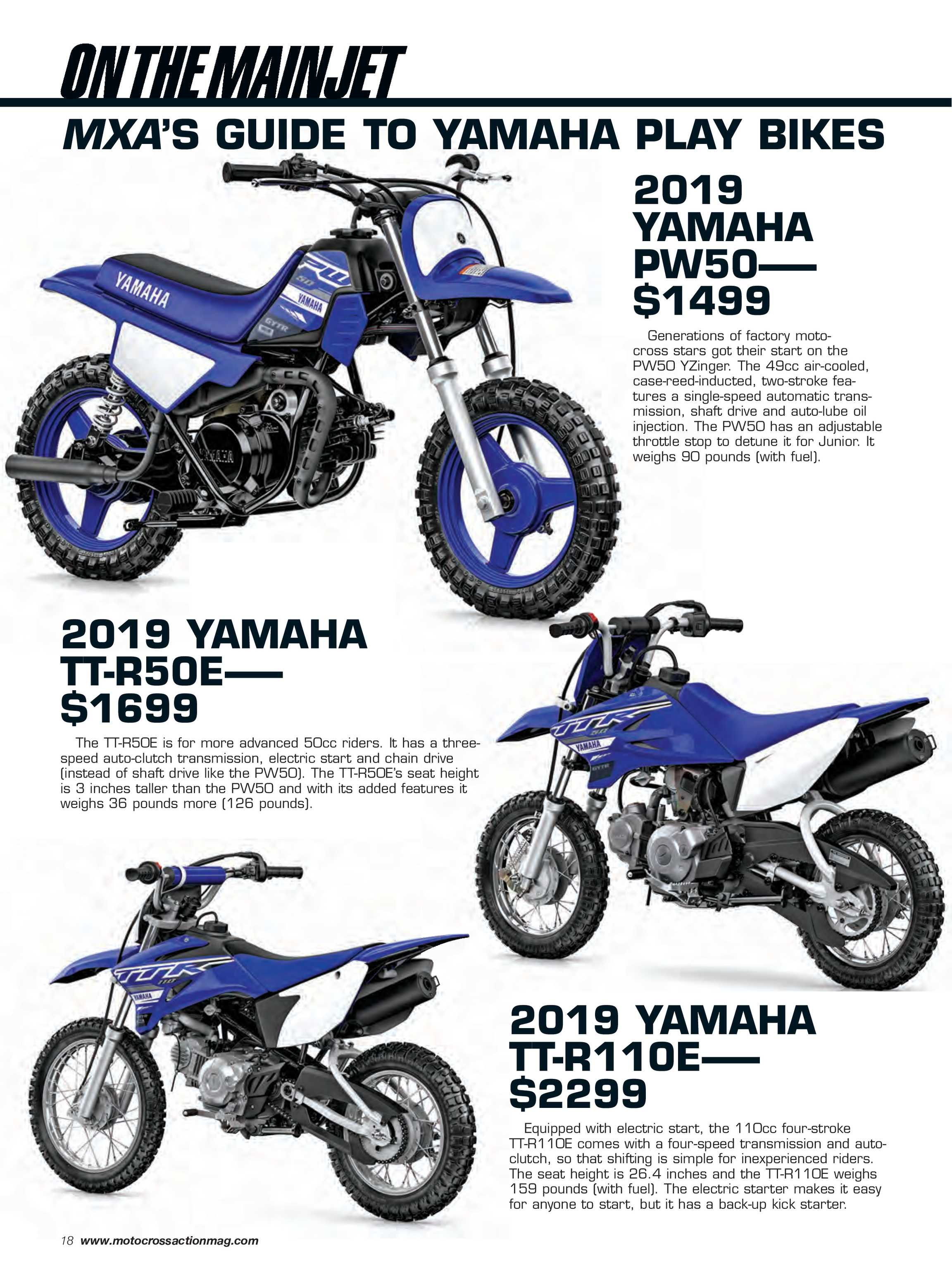 Motocross Action Magazine - June 2019 - page 18