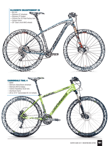mountain bike action 2017 buyers guide page 100 101 Factory 5 Cars