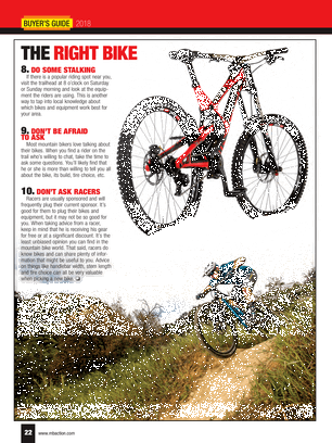 Mountain Bike Action - 2018 Buyers Guide - Page 22-23