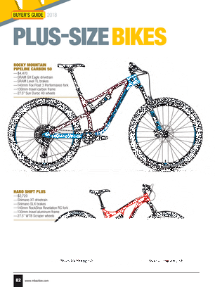 Mountain Bike Action - 2018 Buyers Guide - Page 82-83