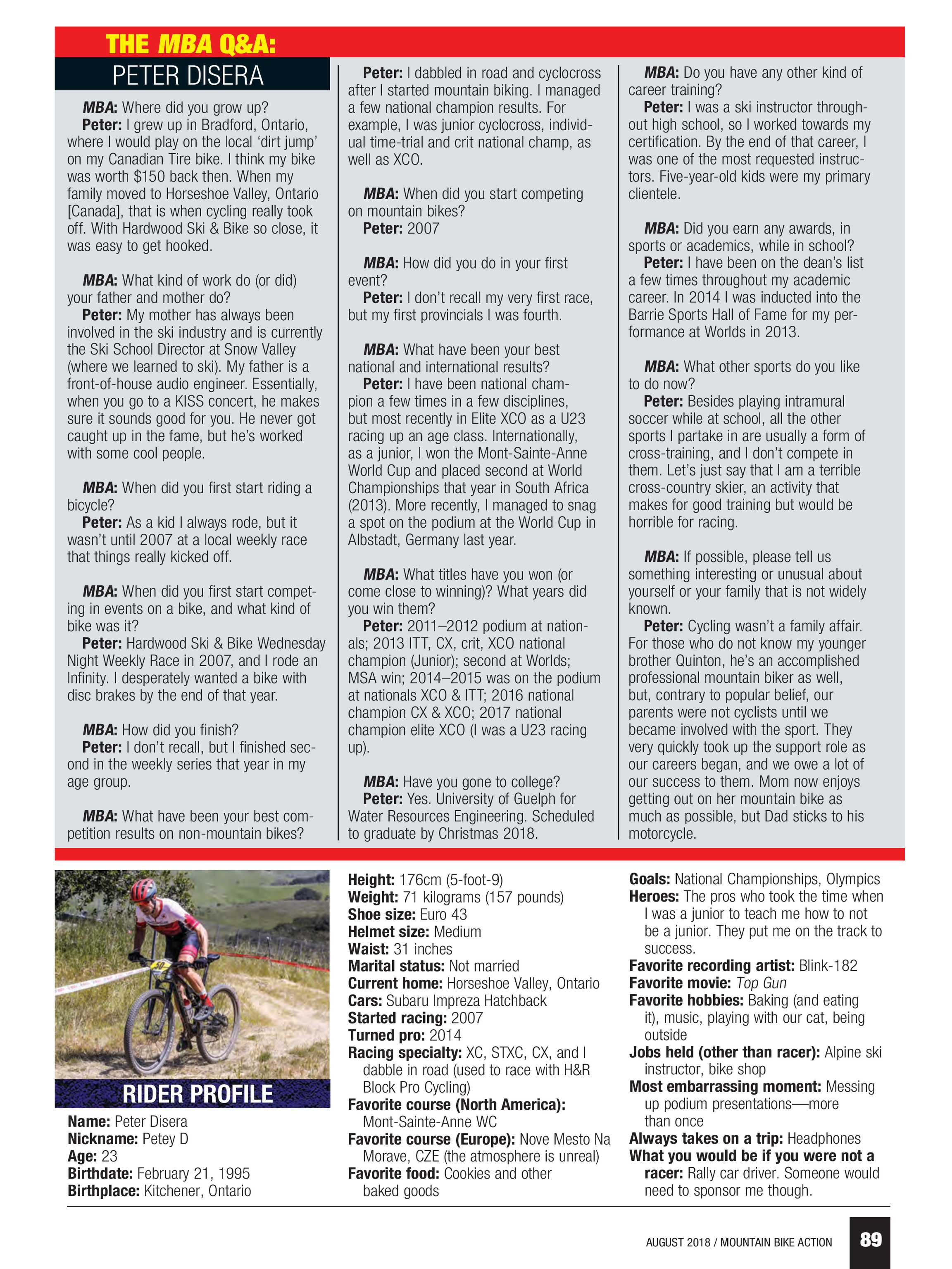 Mountain Bike Action - August 2018 - page 88