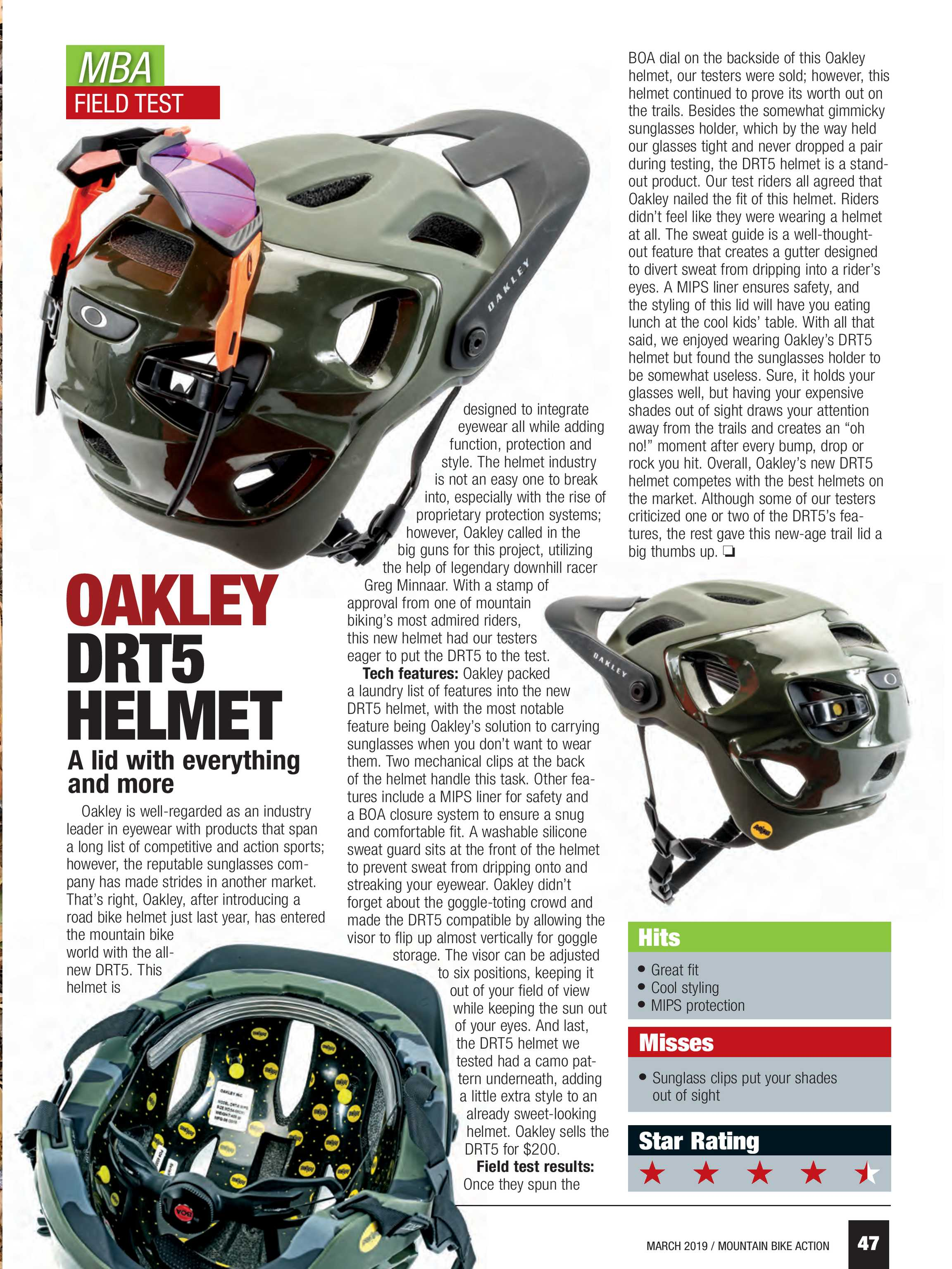 4abceb87c9 Mountain Bike Action - march 2019 - page 47