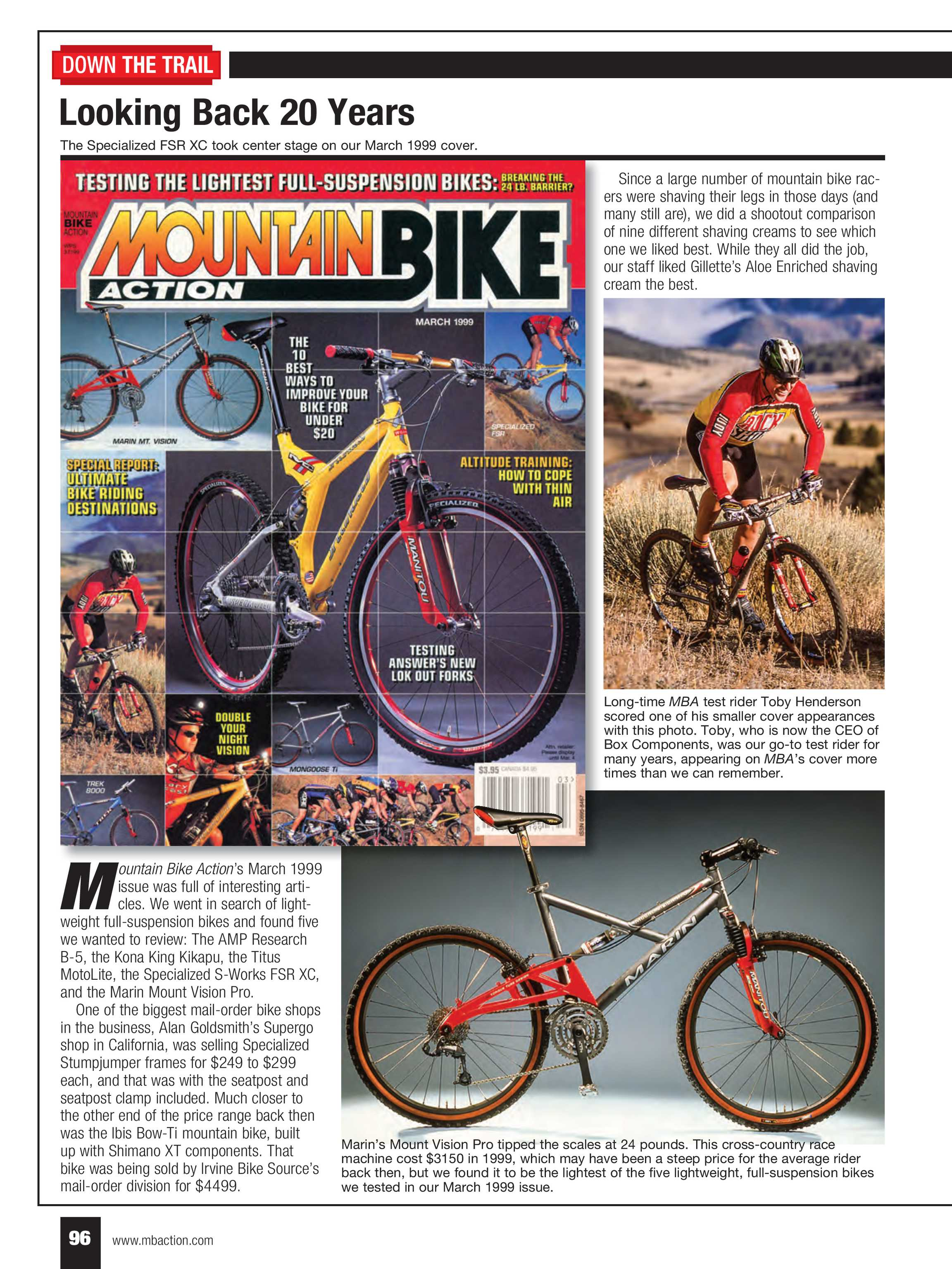 Mountain Bike Action - march 2019 - page 96