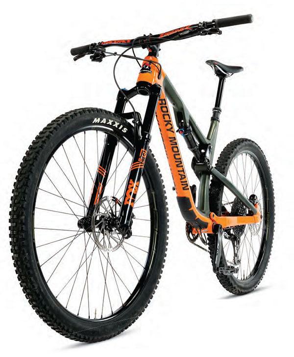 Mountain Bike Action - May 2018 - Rocky Mountain Instinct Carbon 70