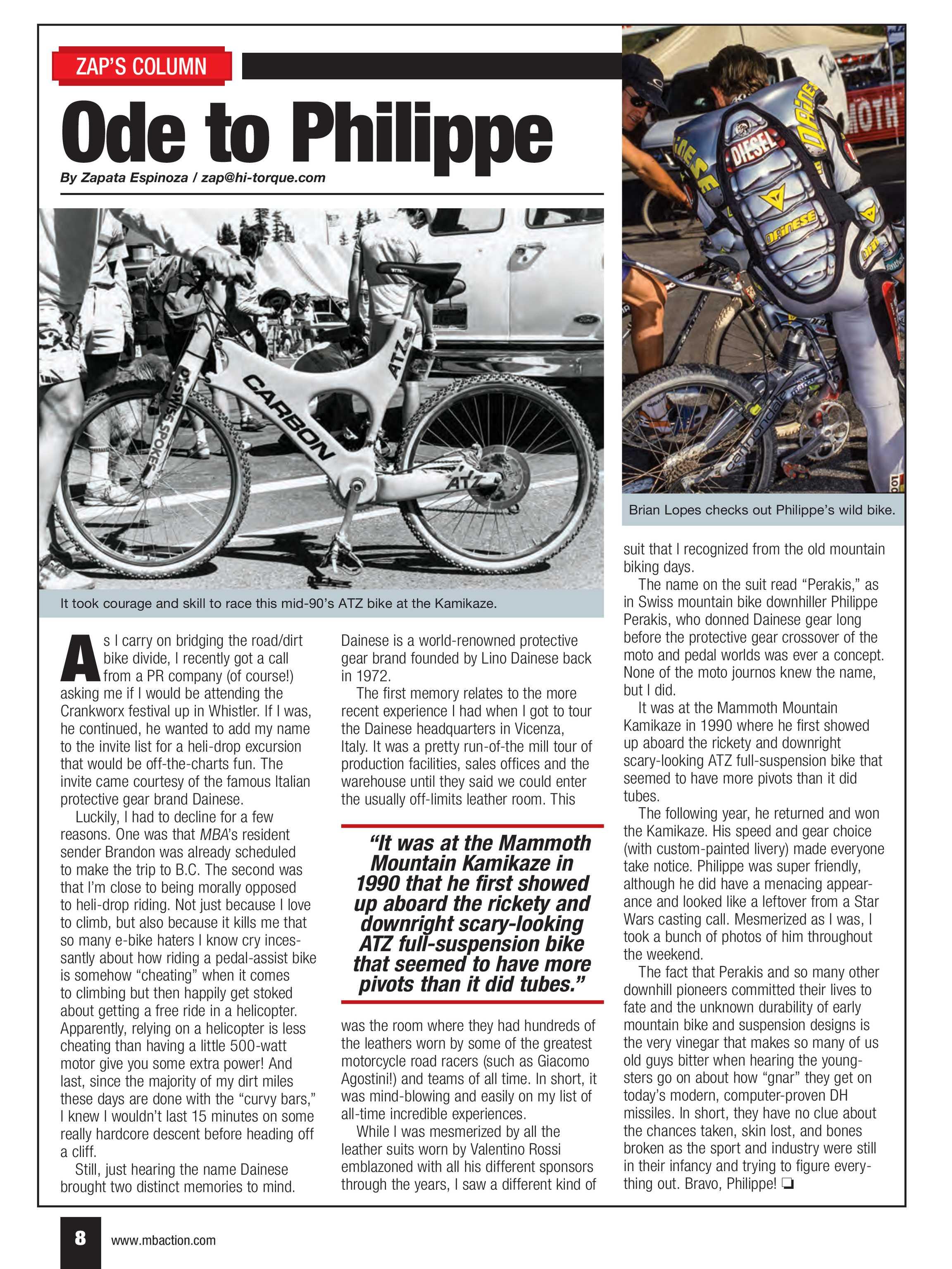 fa7c386e7fd Mountain Bike Action - NOVEMBER 2018 - page 8