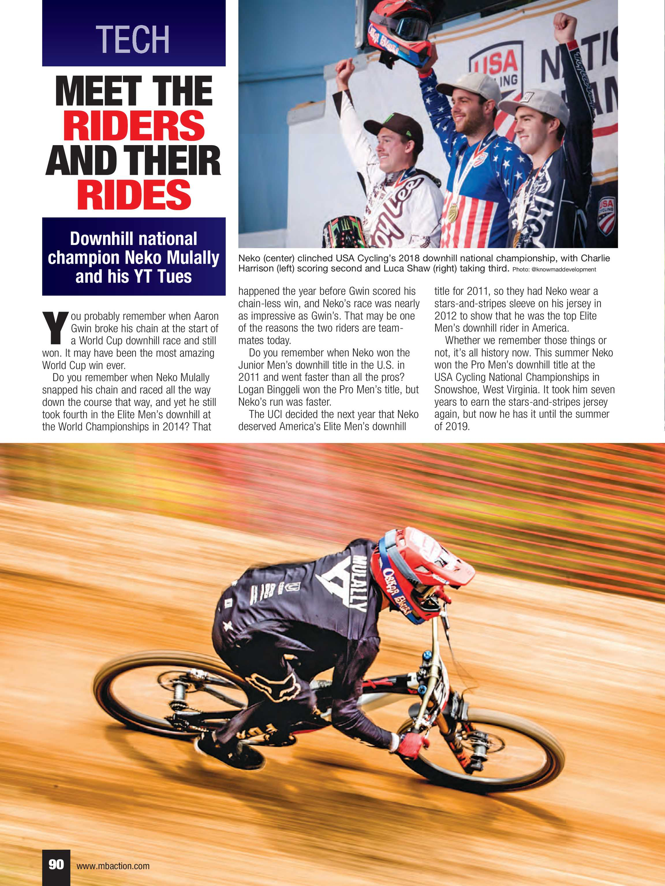 Mountain Bike Action - NOVEMBER 2018 - page 90