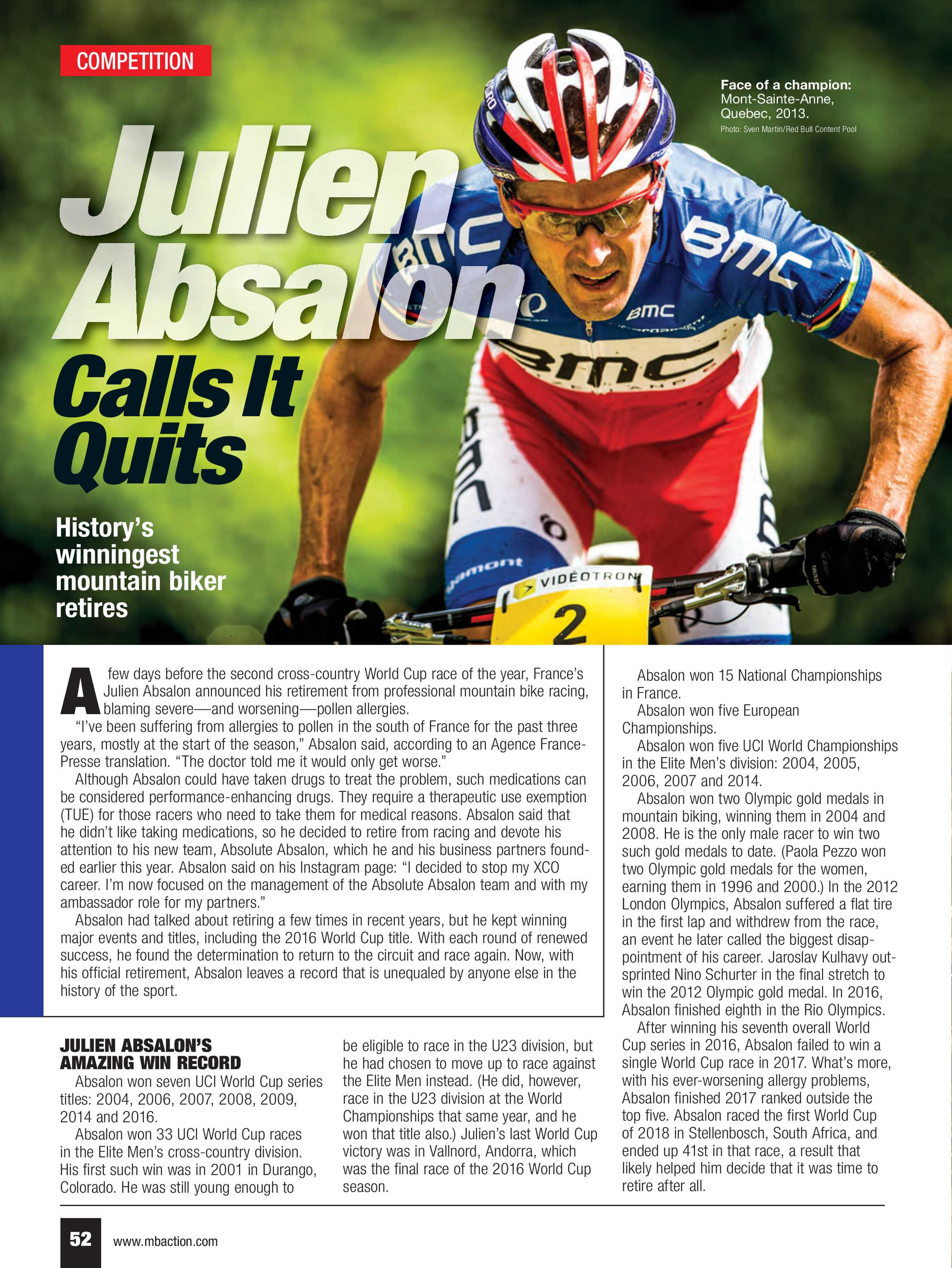 Mountain Bike Action - September 2018 - page 52