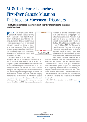 Neurology Reviews - August 2016 - Page 28-29