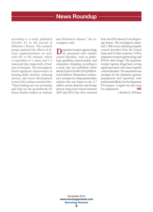 Neurology Reviews - November 2014 - Page 8-9
