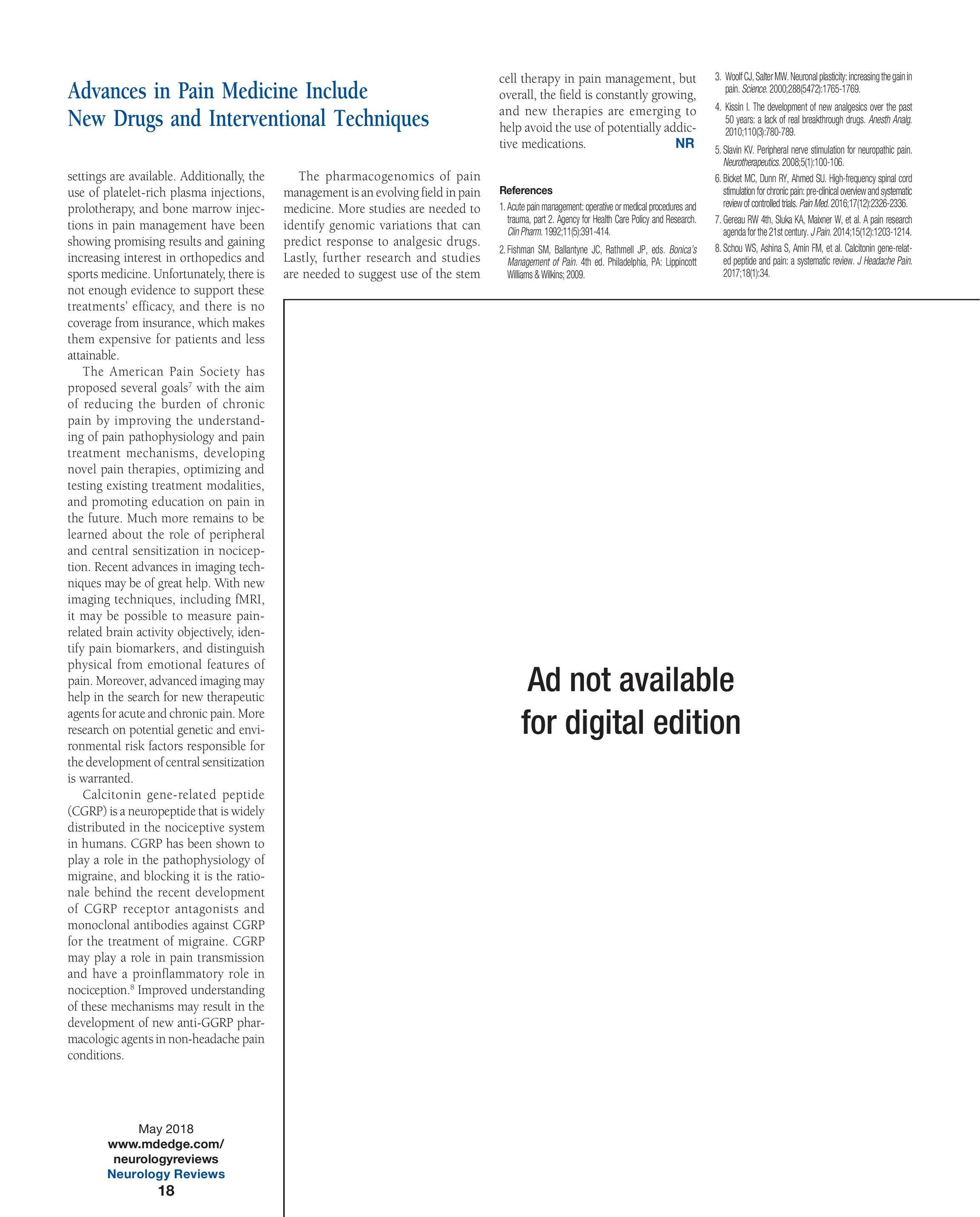 Neurology Reviews - NR MAY 2018 - page 19
