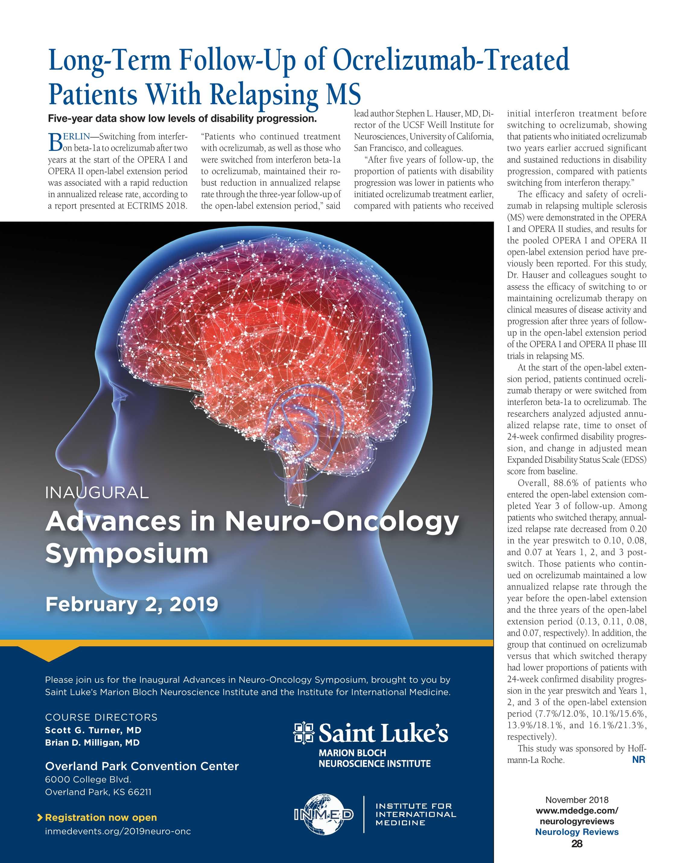 Neurology Reviews - NR NOV 2018 - page 27