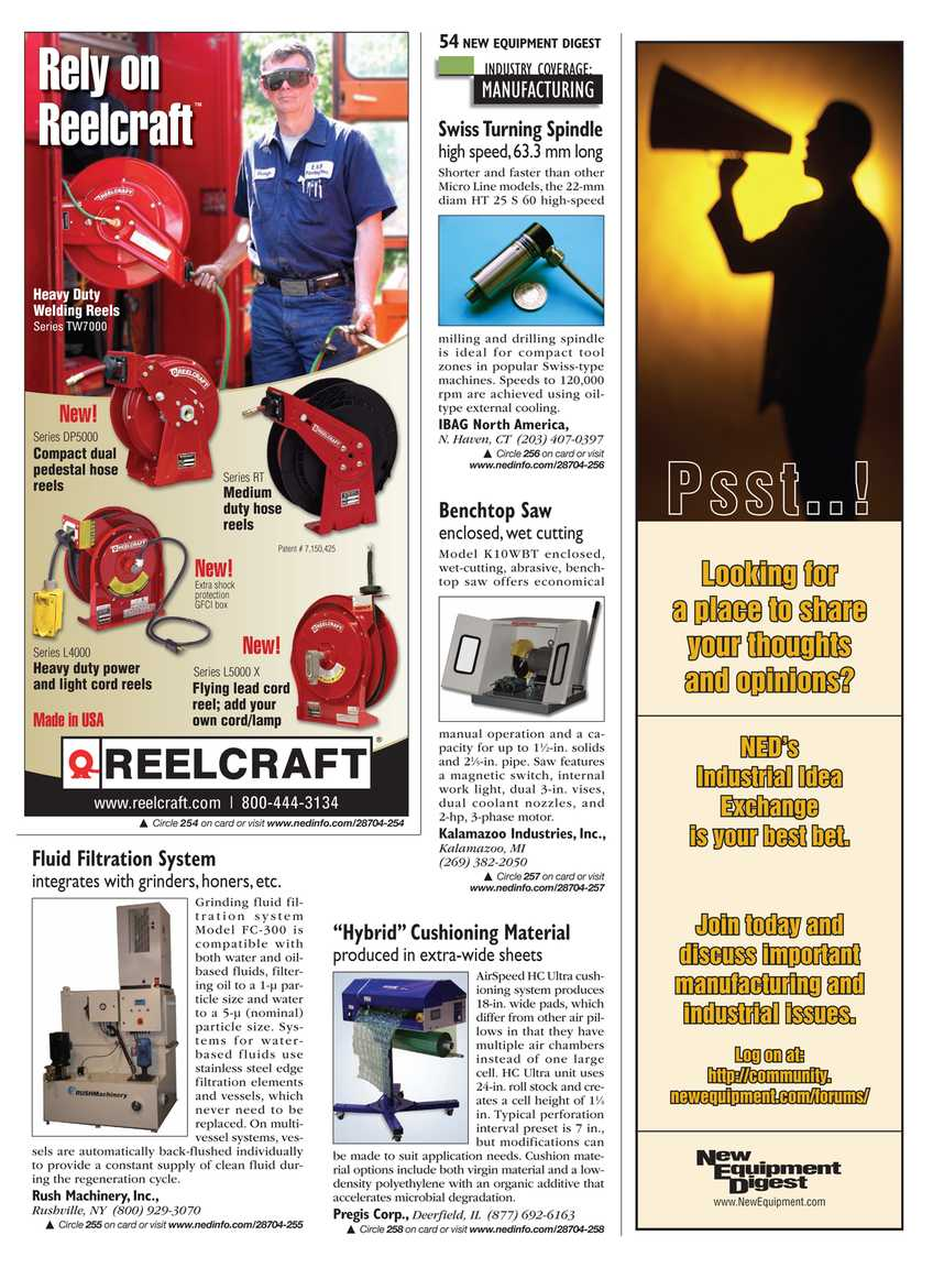 New Equipment Digest - May 2010 - page 53