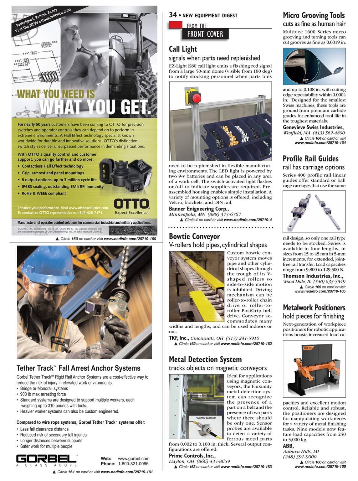 New Equipment Digest - December 2010 - page 35