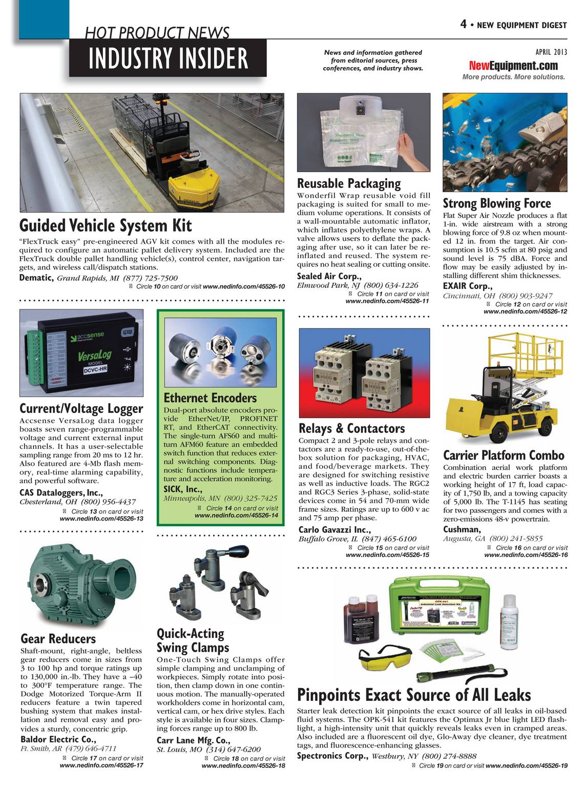 New Equipment Digest - April 2013 - page 3