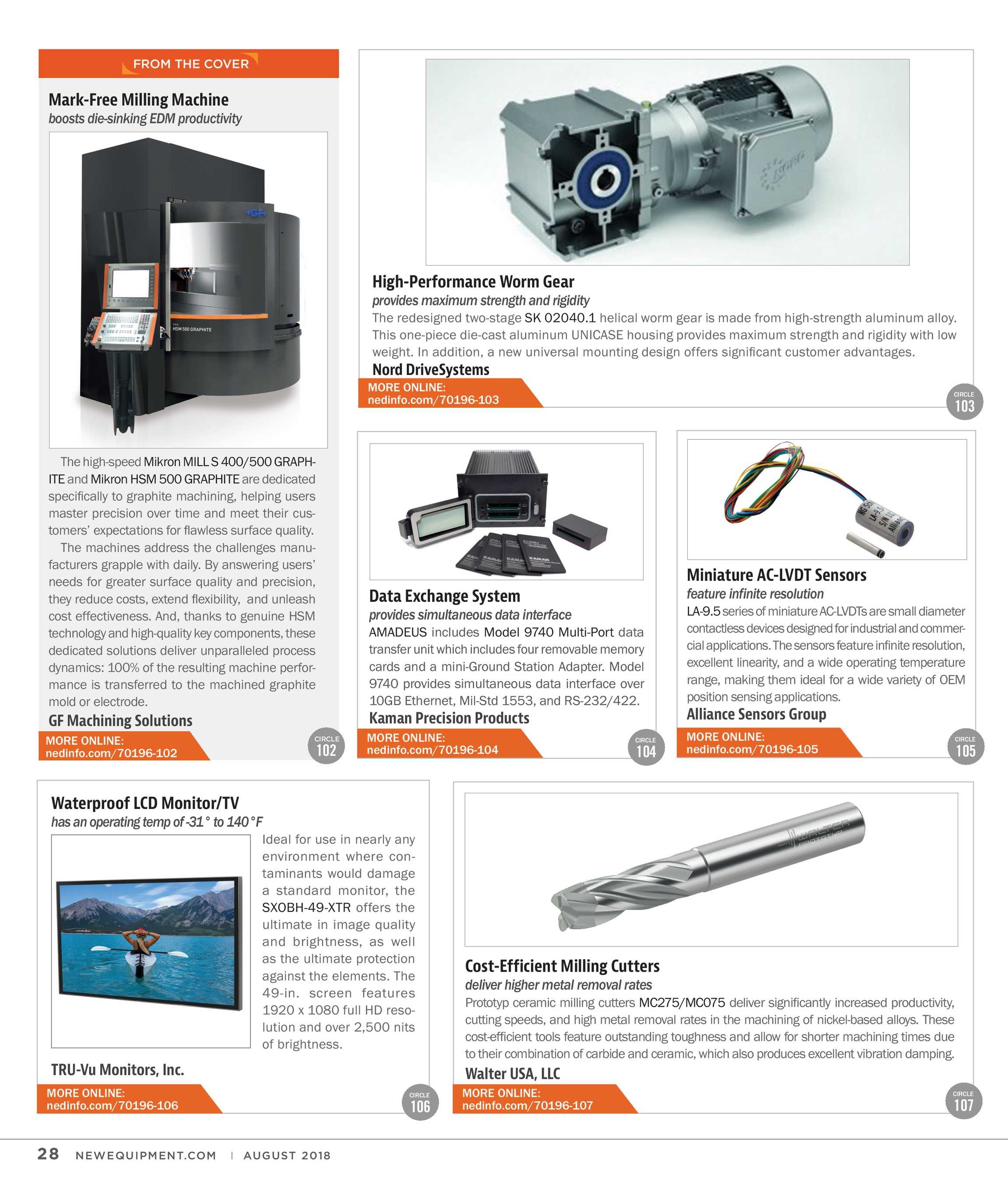 New Equipment Digest - August 2018 - page 28
