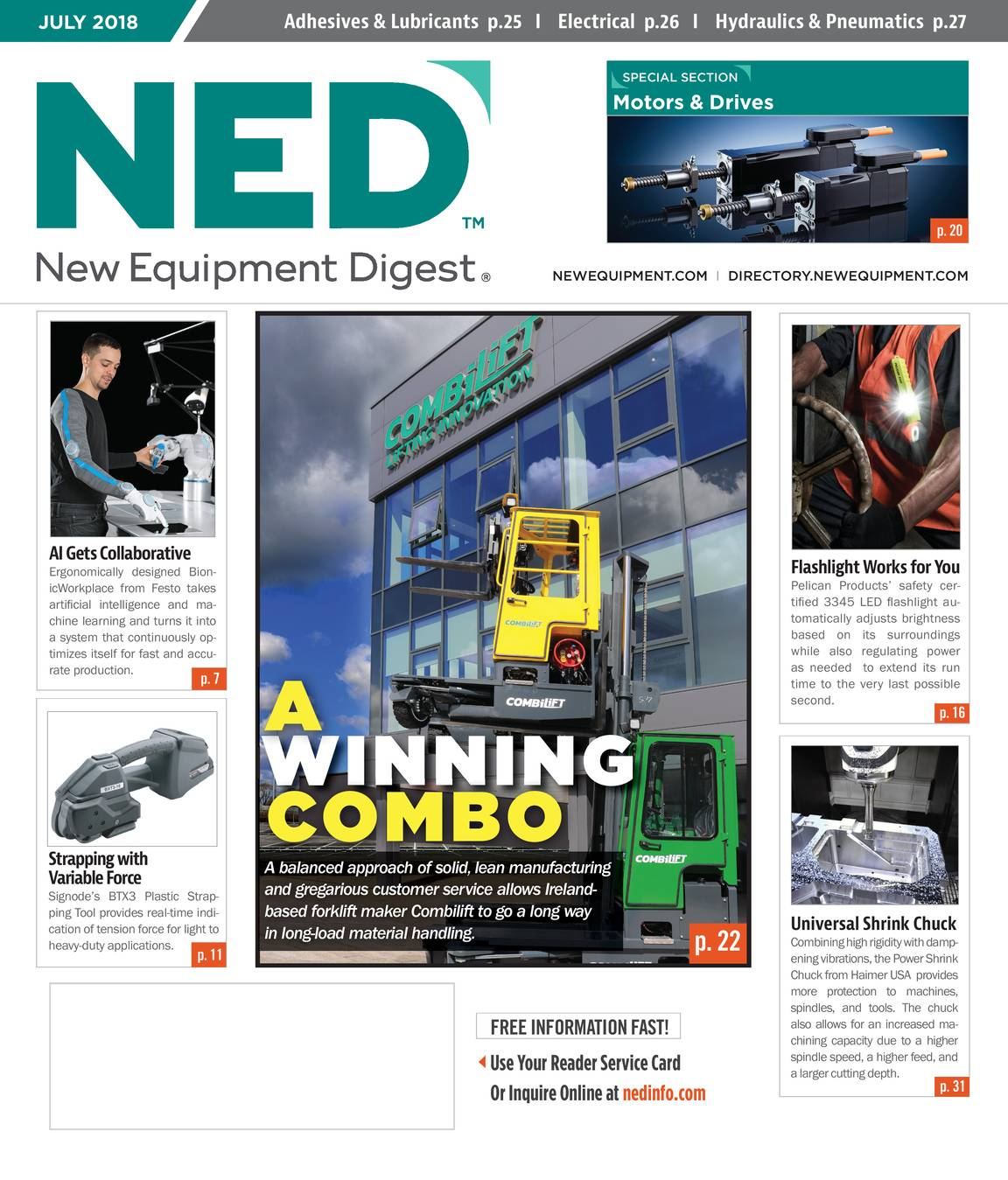 New Equipment Digest - July 2018 - page IFC