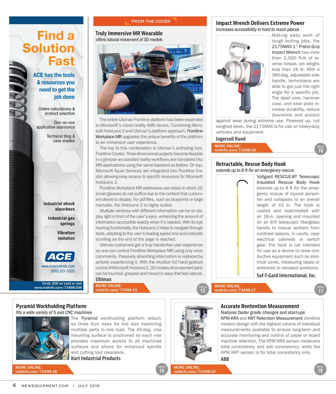 New Equipment Digest - July 2019 - page 4