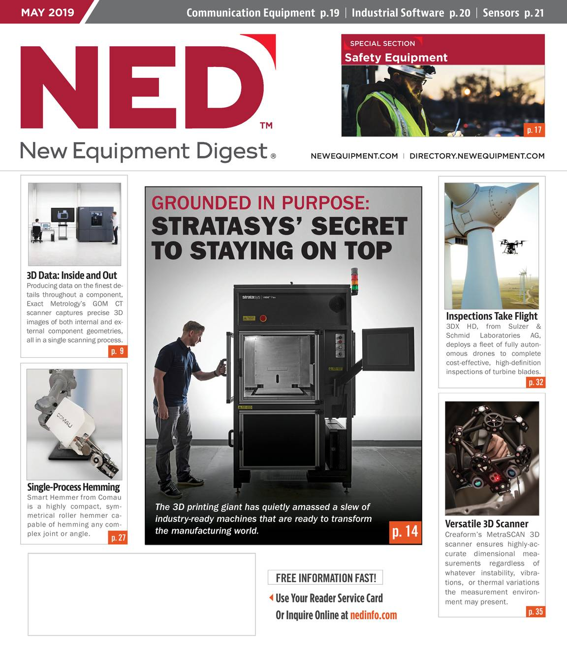 New Equipment Digest - May 2019 - page IFC