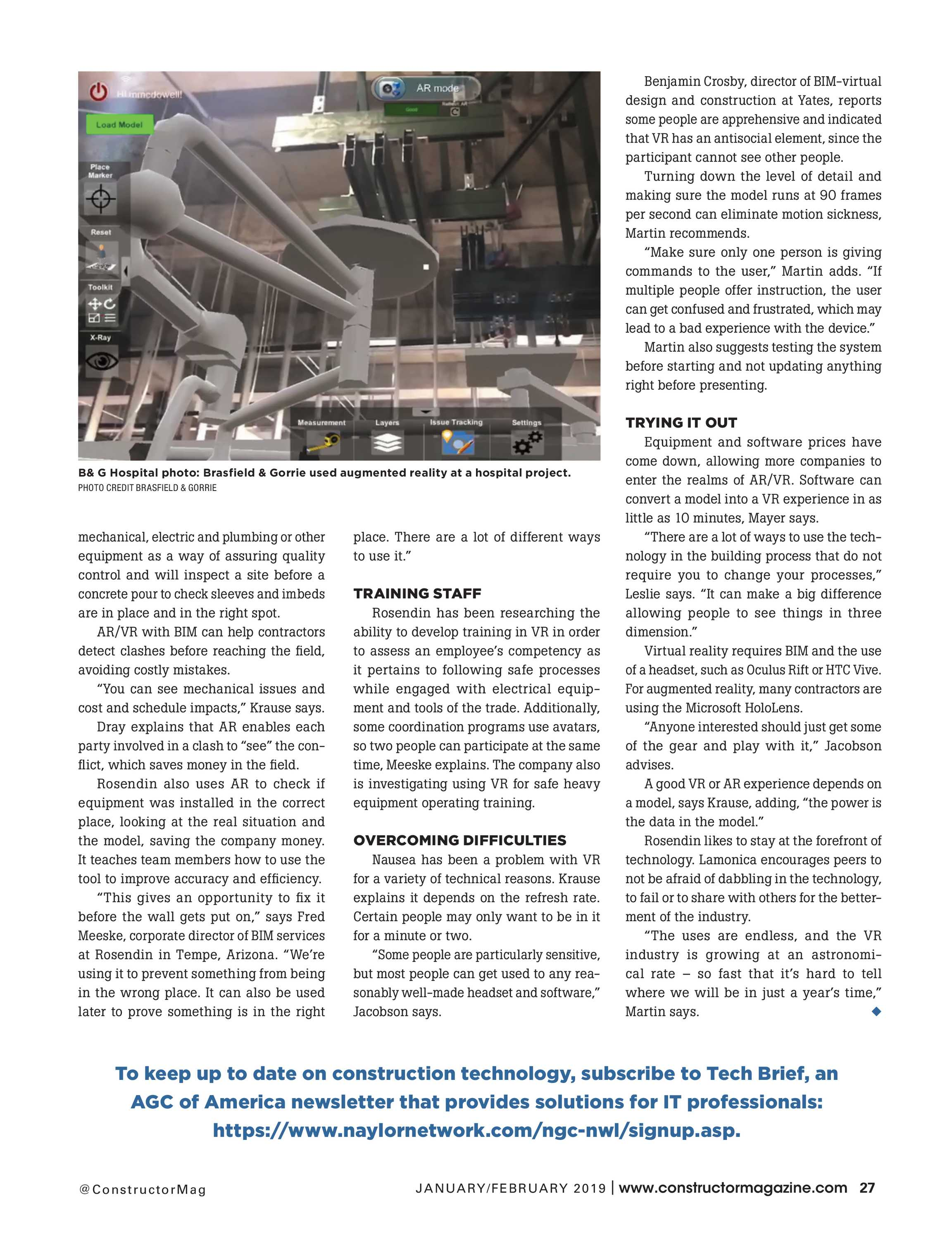 Constructor Magazine (NGCS) - January/February 2019 - page 29