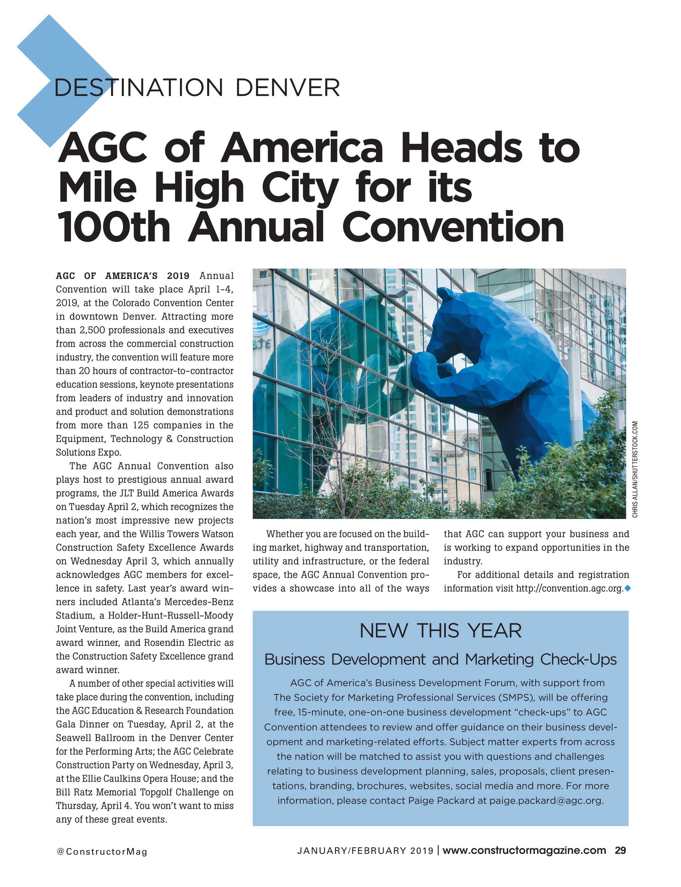 Agc Annual Convention 2019