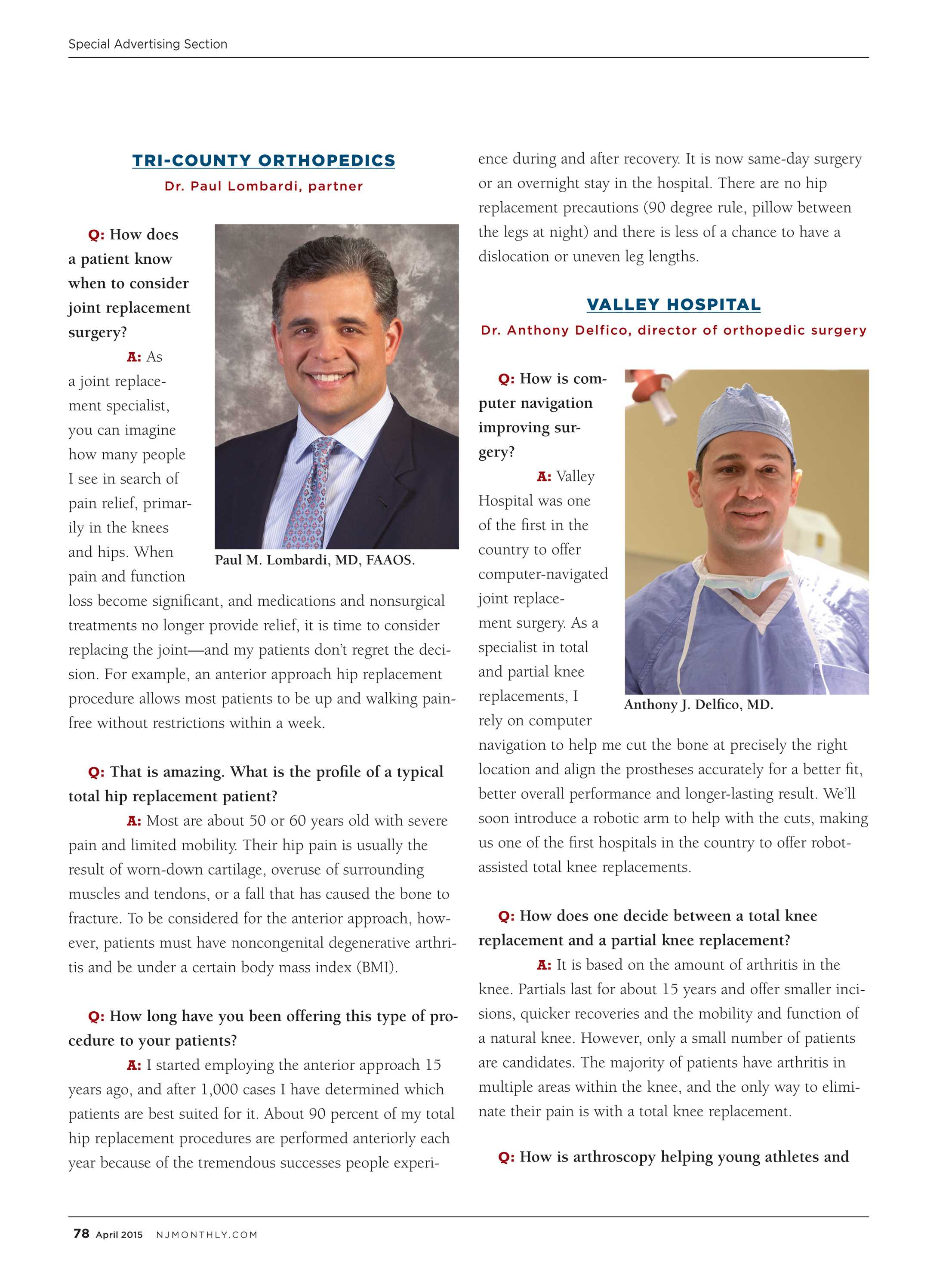 NJ Monthly - April 2015 - page 78