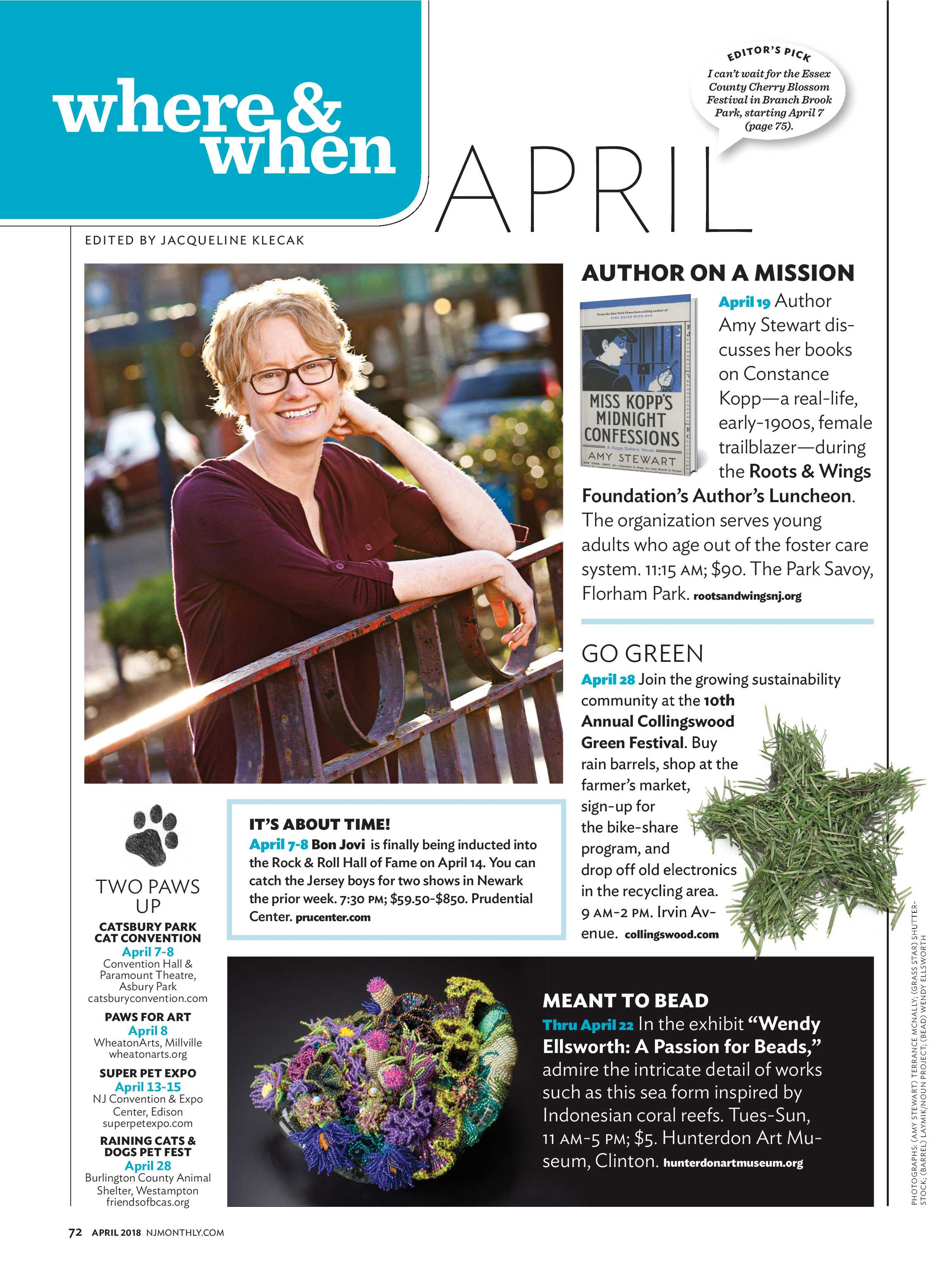 NJ Monthly - April 2018 - page 72