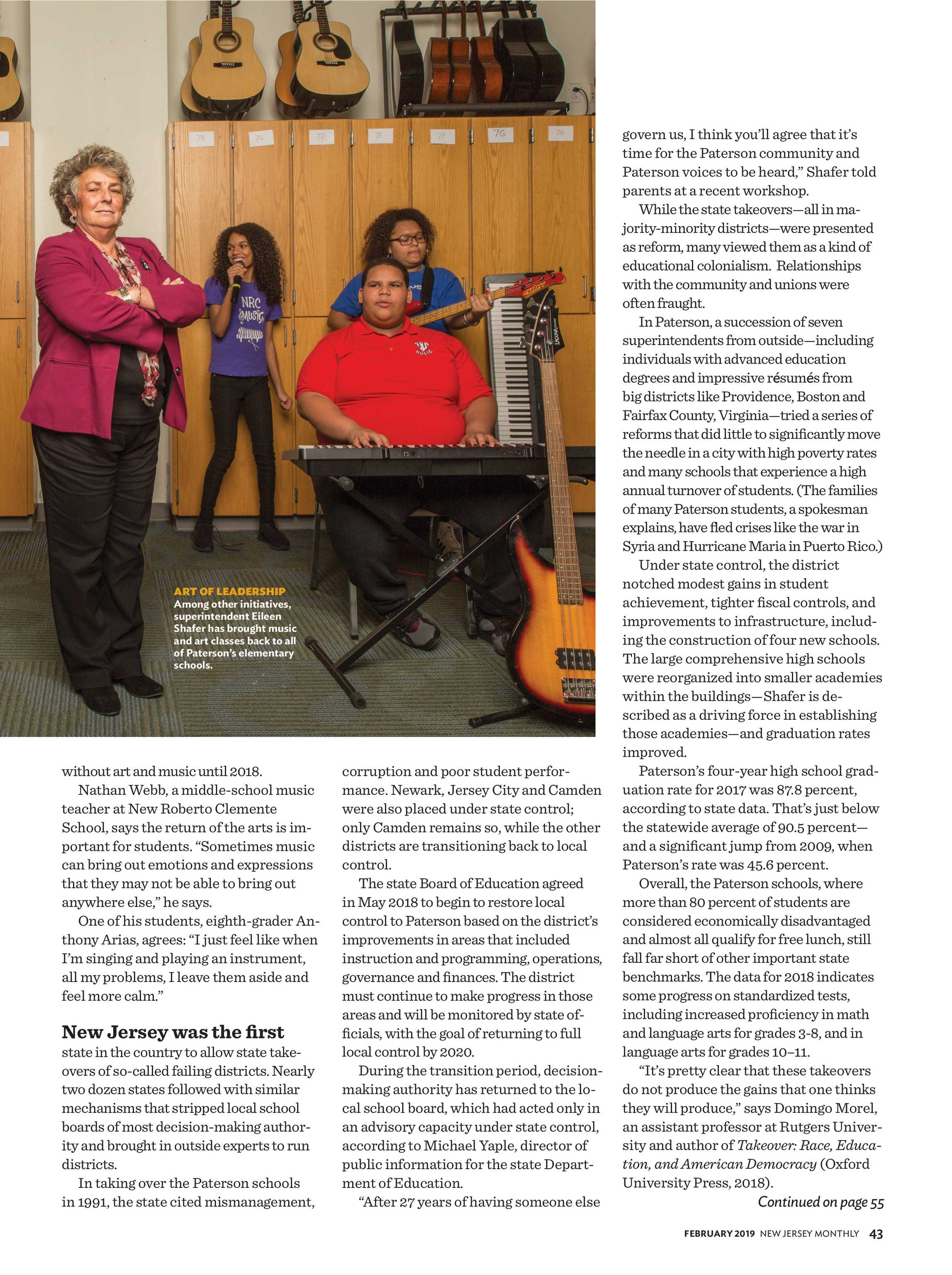 NJ Monthly - February 2019 - page 43