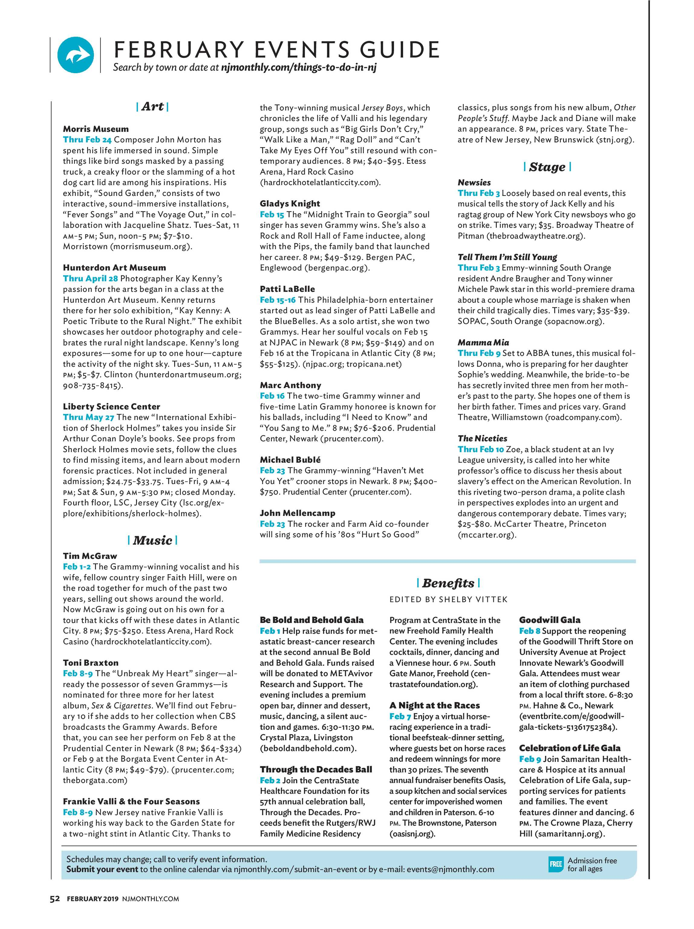 NJ Monthly - February 2019 - page 52