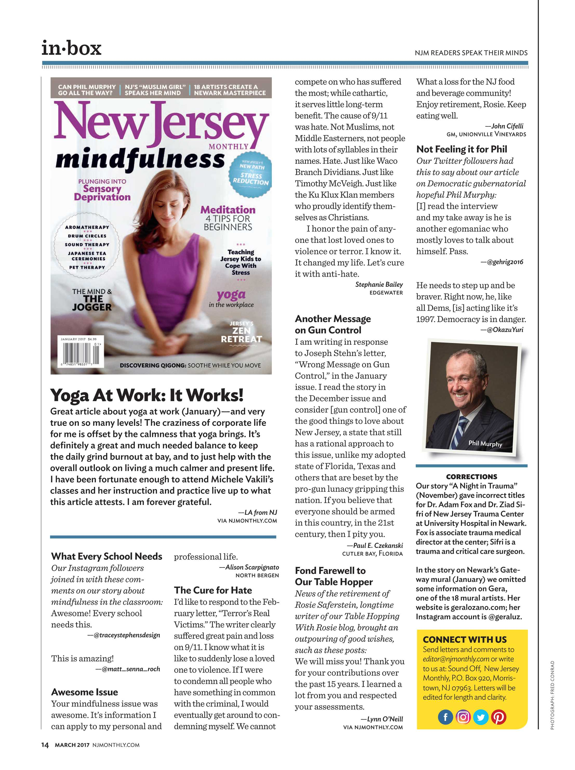 NJ Monthly - March 2017 - page 14