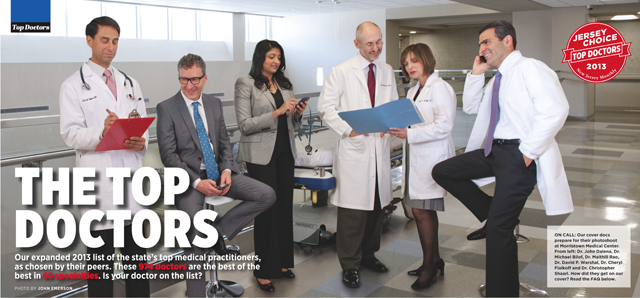NJ Monthly - November 2013 - THE TOP DOCTORS
