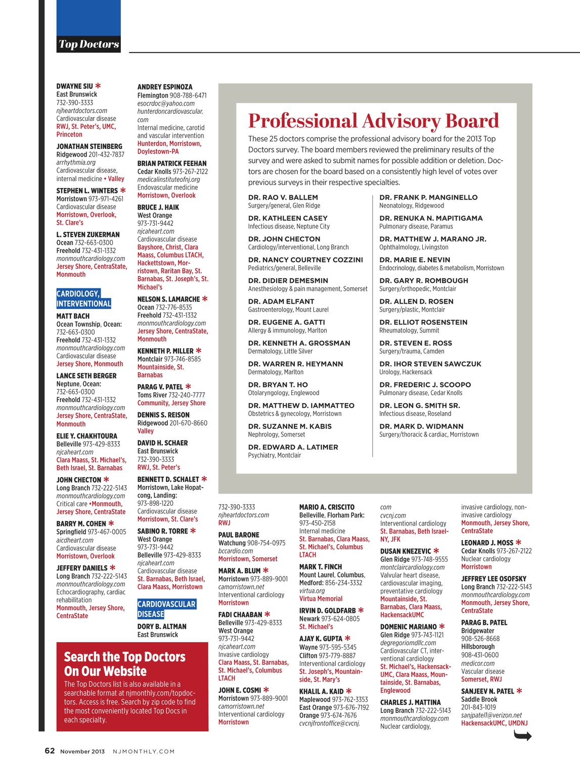NJ Monthly - November 2013 - page 61