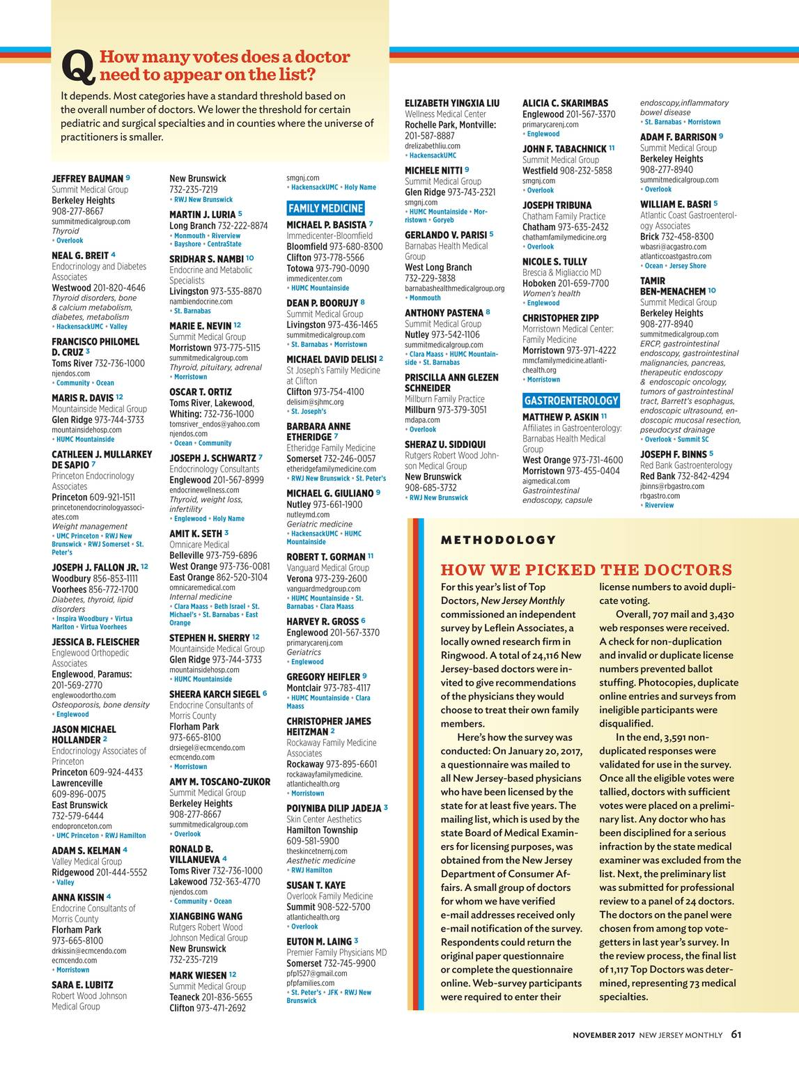 NJ Monthly - November 2017 - page 62