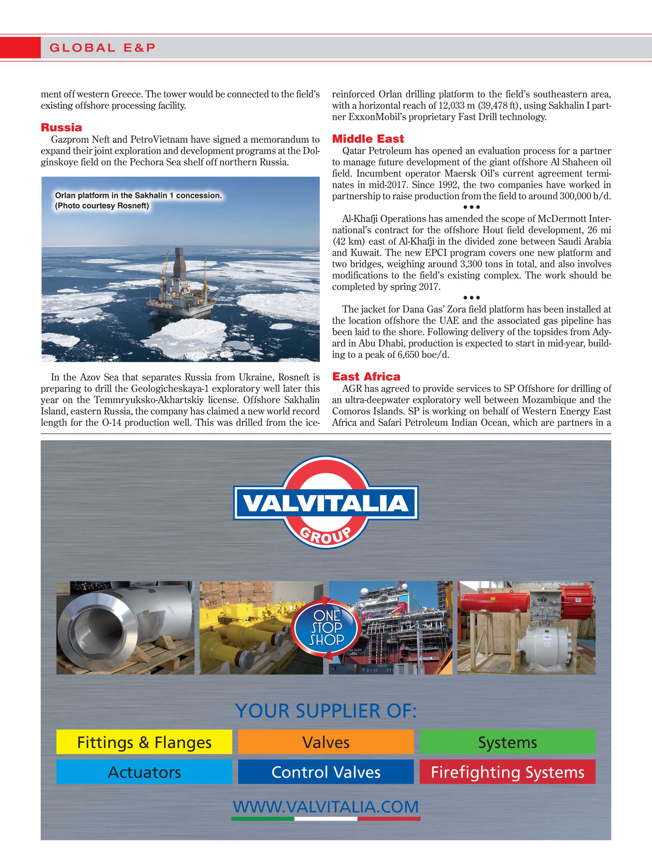 Offshore Magazine - June 2015 - page 16