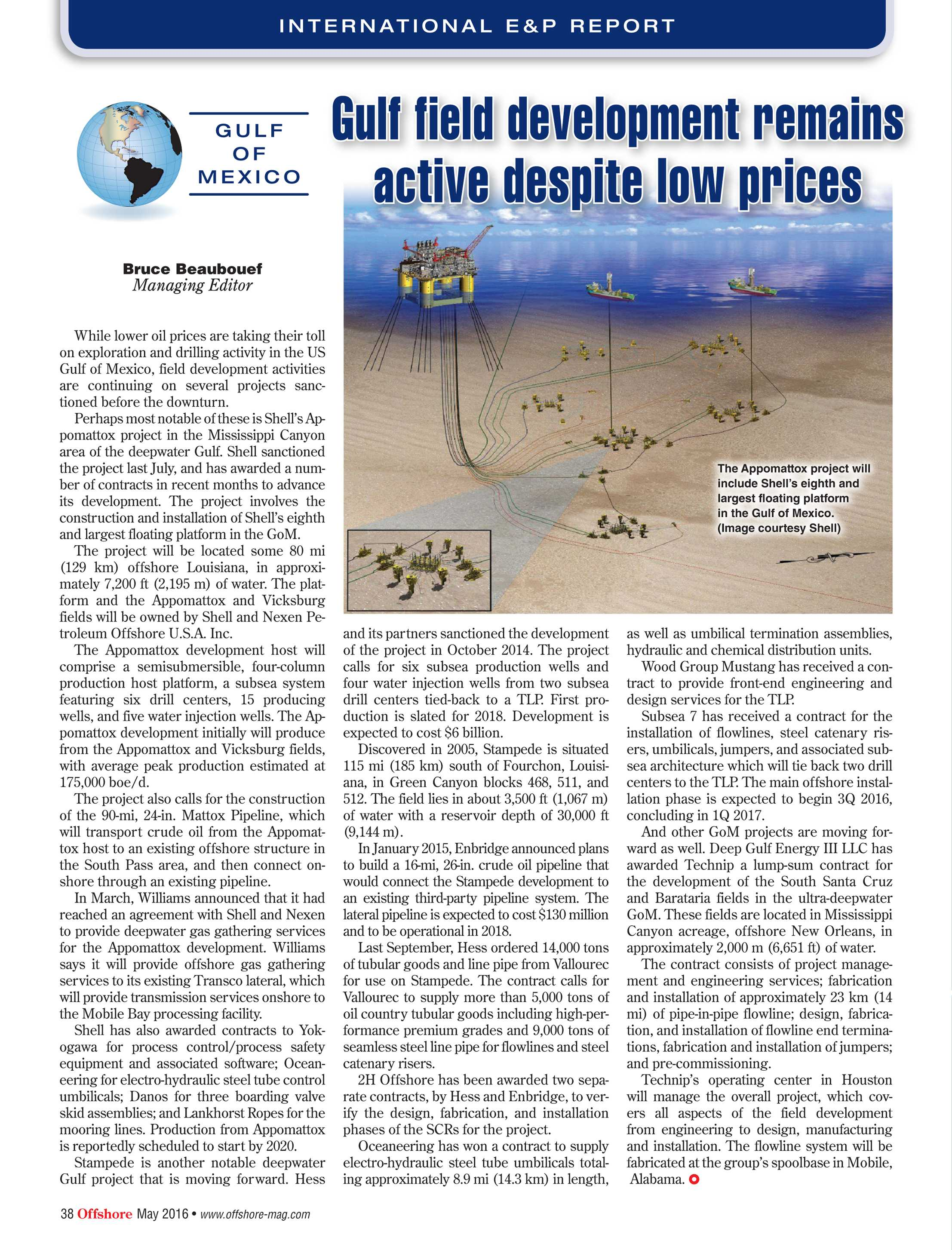 Offshore Magazine - May 2016 - page 38