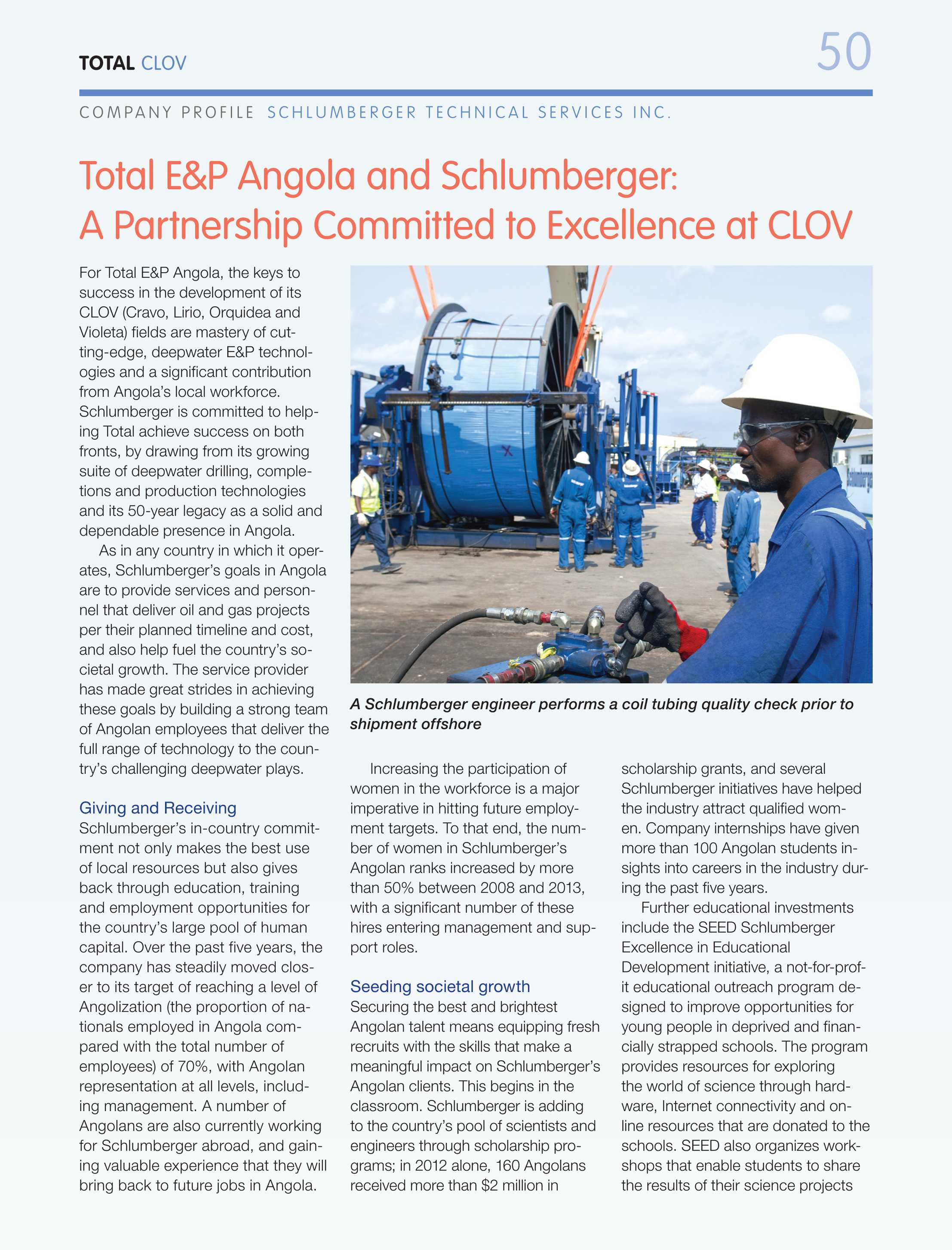 Oil & Gas Journal - September 1, 2014 - page Clov50