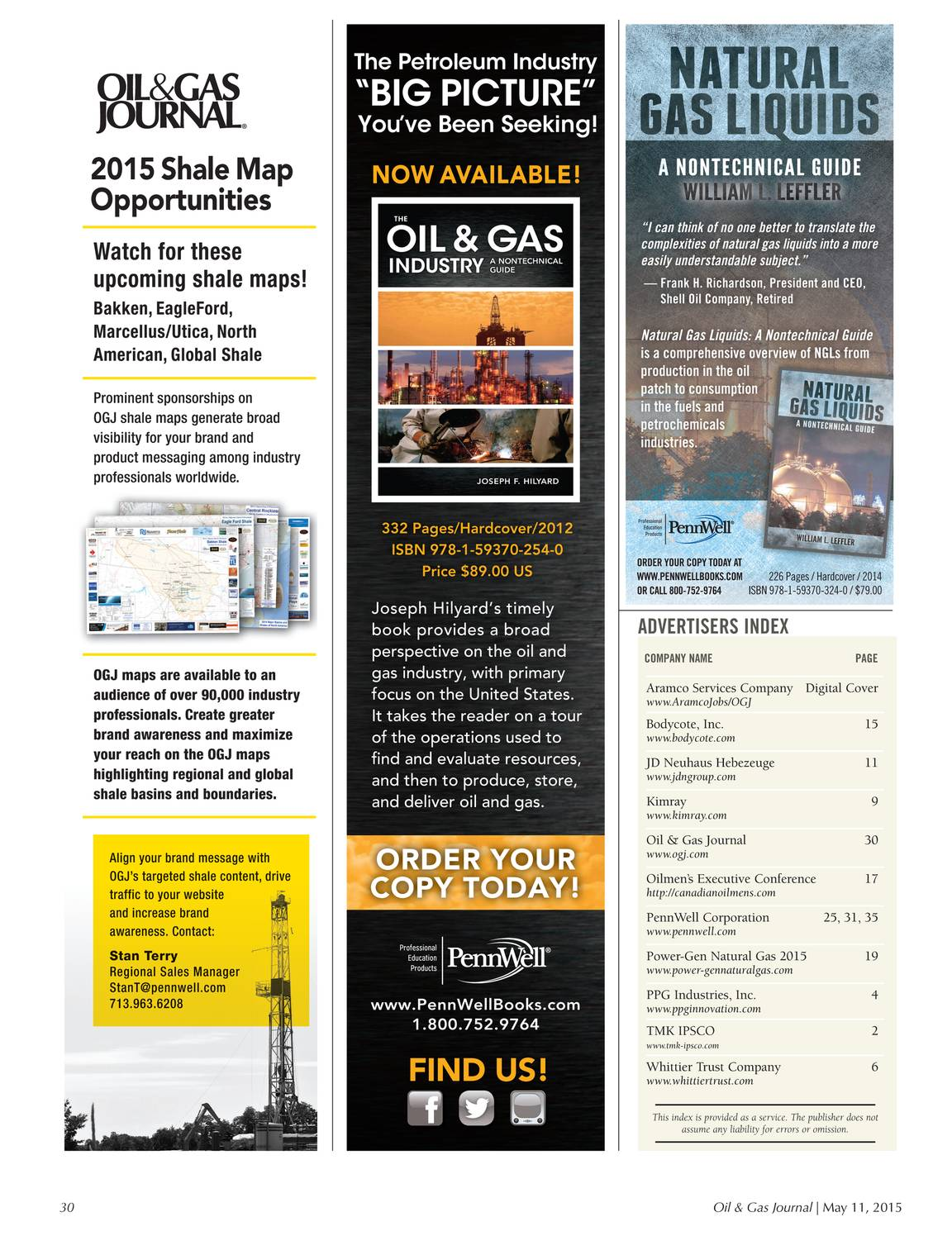Oil & Gas Journal - May 11, 2015 - page 30