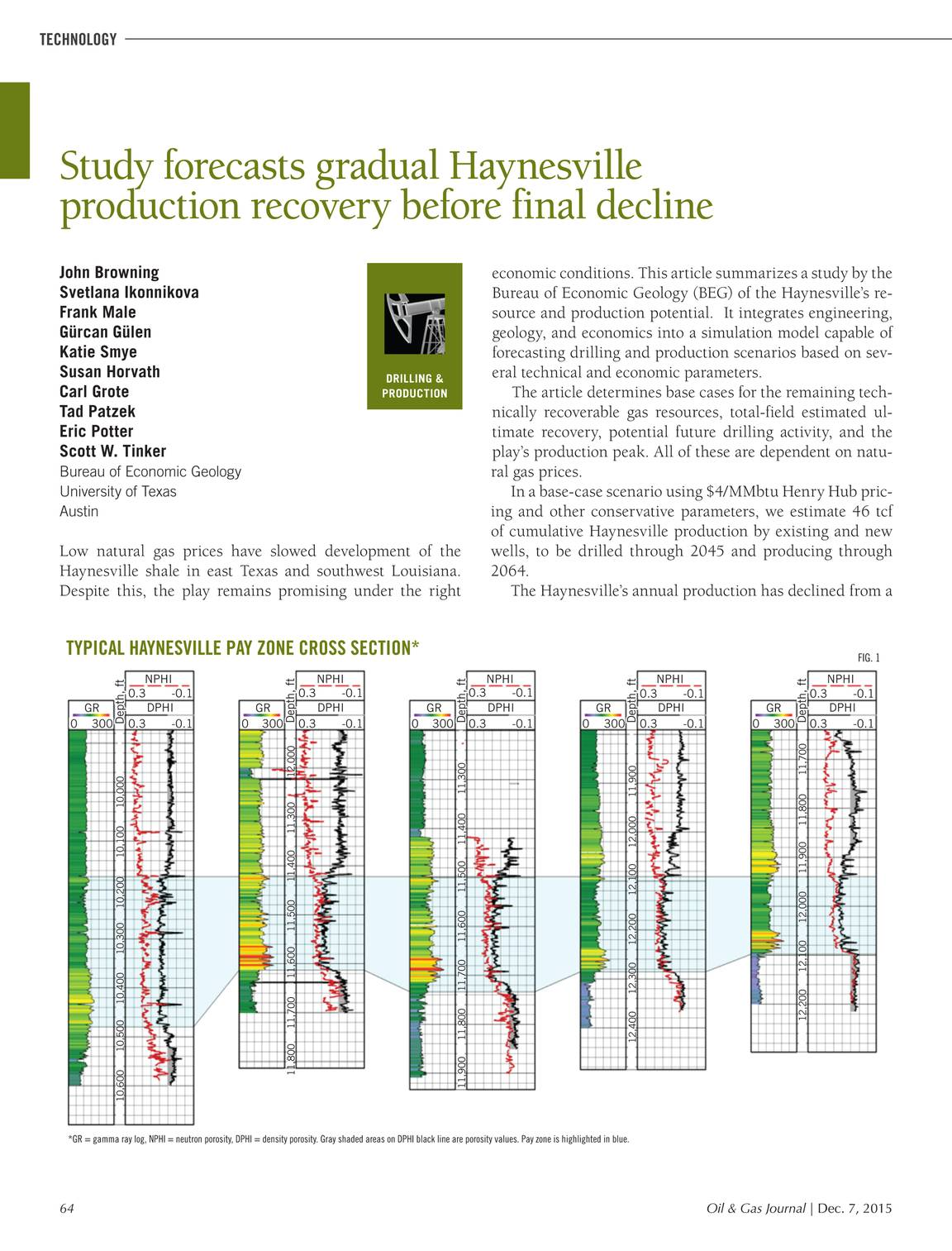 Oil & Gas Journal - December 07, 2015 - page 63