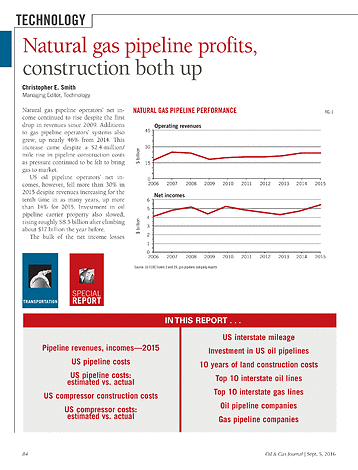 Oil & Gas Journal - September 5, 2016 - Page 84-85