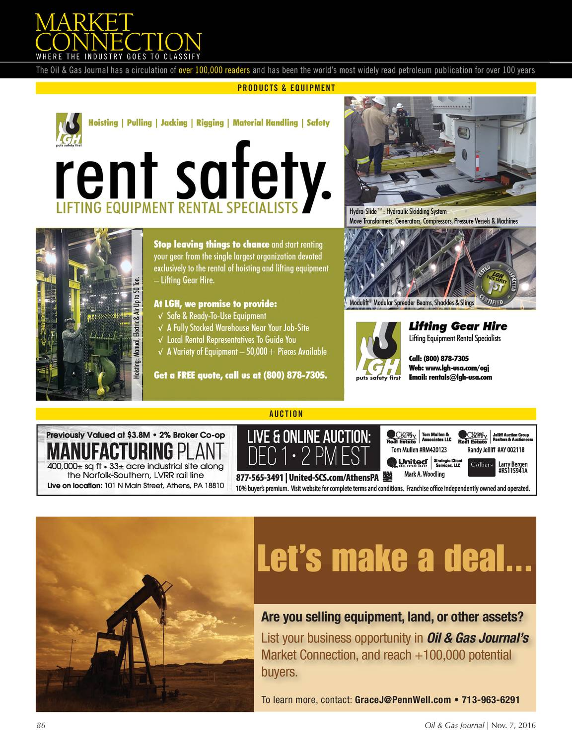 Oil & Gas Journal - November 07, 2016 - page 85