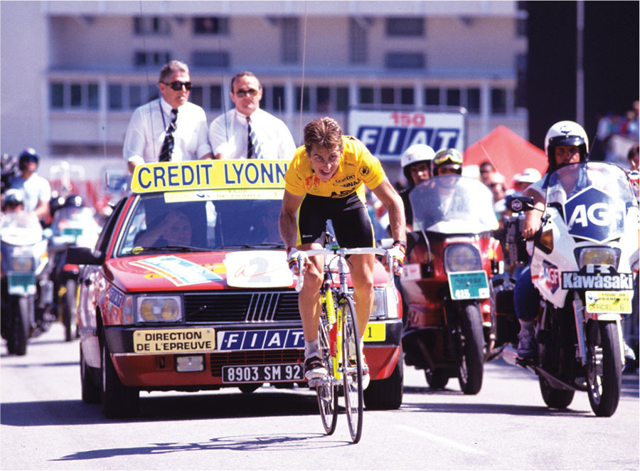out of energy lemond lost 90 seconds to fignon