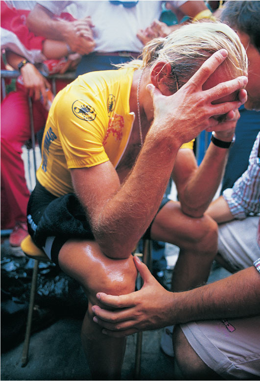 on losing the tour by 8 seconds fignon was inconsolable