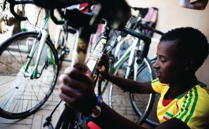 peloton bicycle race