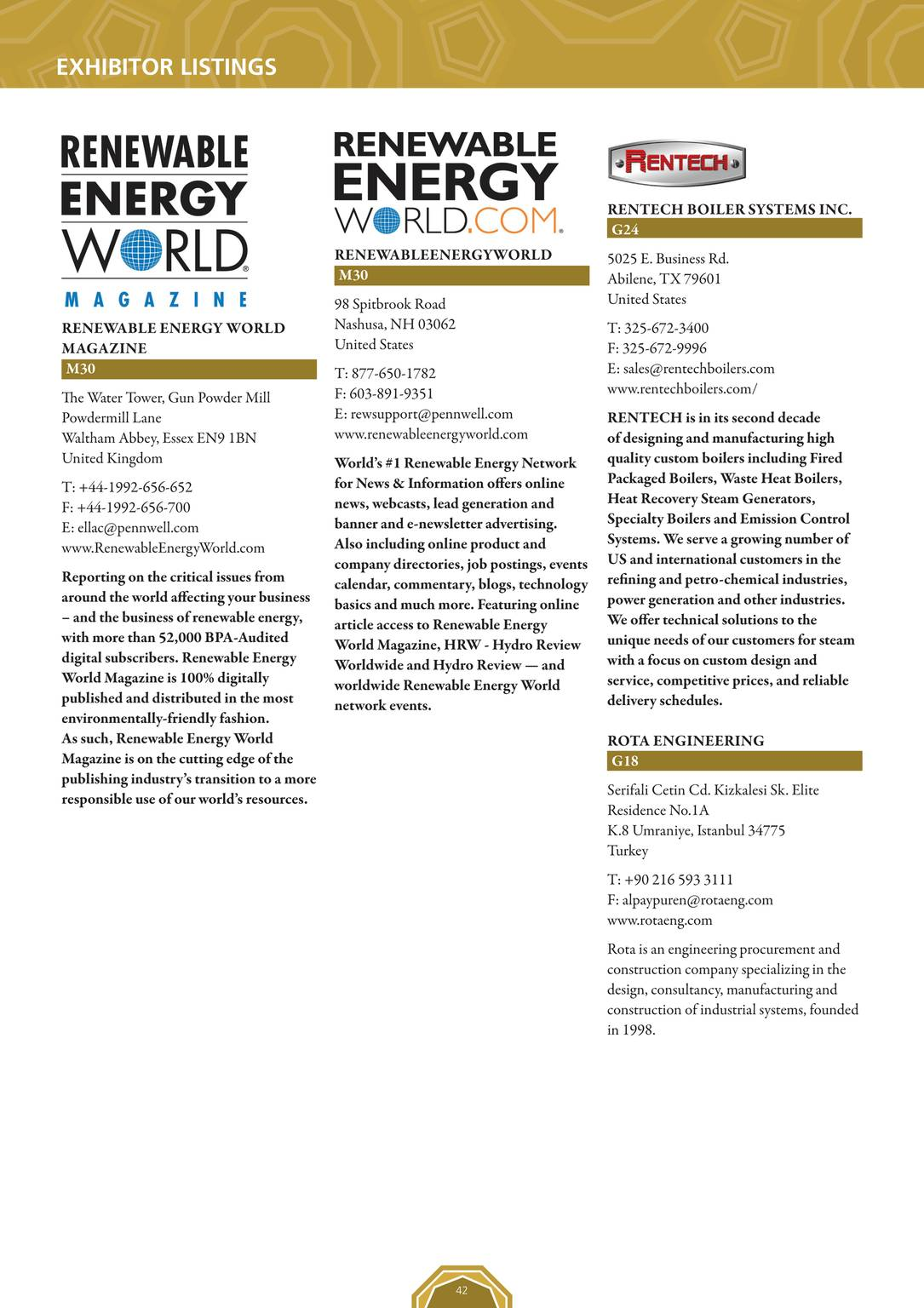 Pennwell Supplements 2015 Power Gen Middle East Event Guide Page 43
